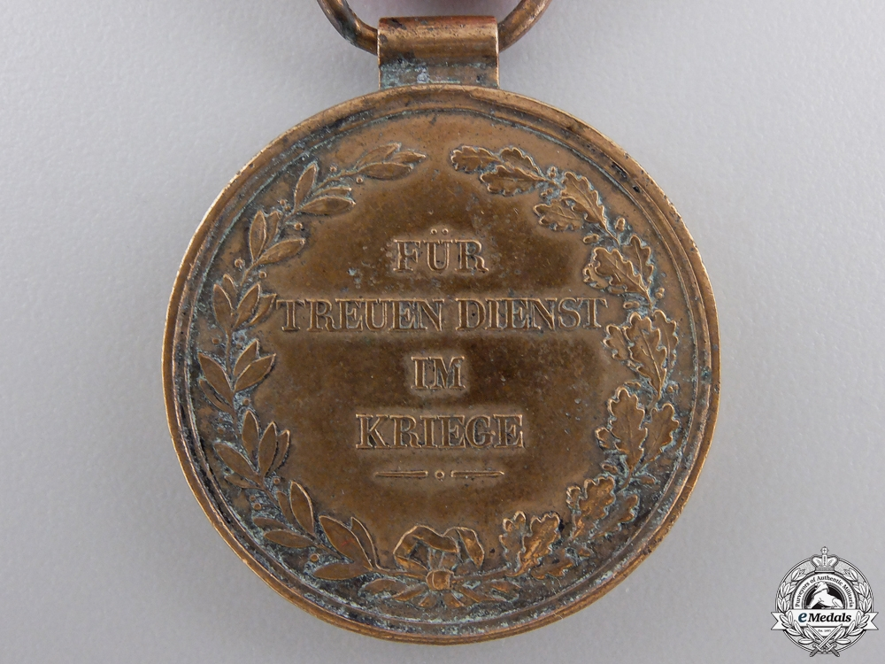 An 1840 Hessen Field Honour Decoration