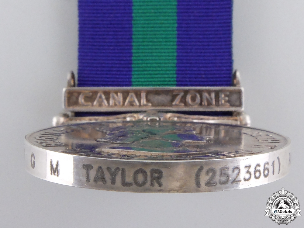 A General Service Medal to the Royal Air Force