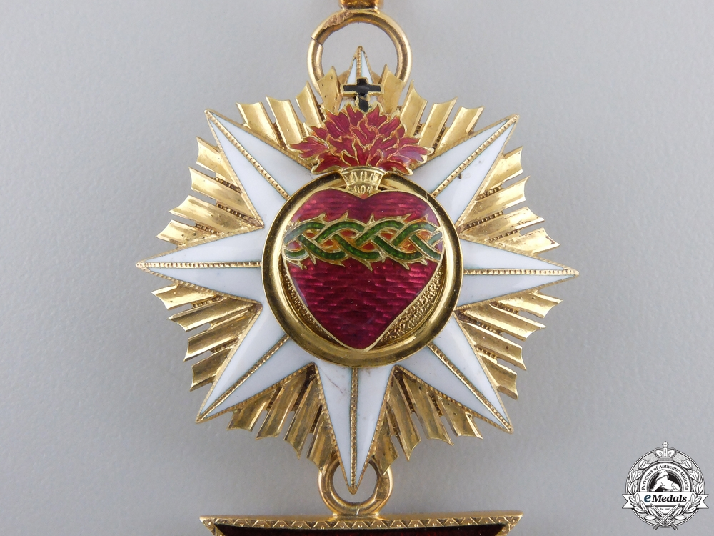 A French Made Portuguese Military Order of Christ in Gold