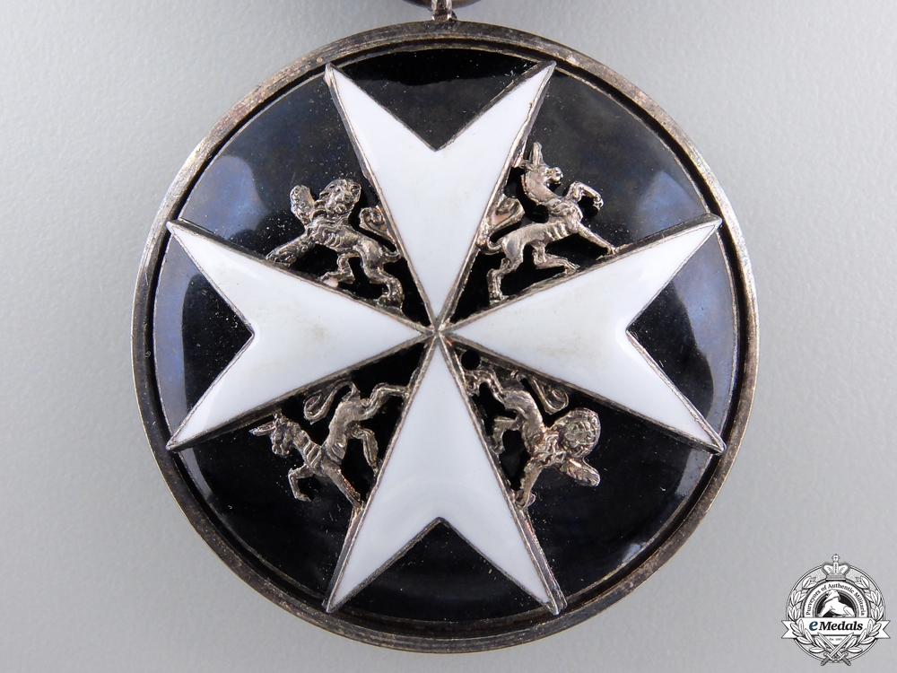 An Order of St. John for Serving Brother Breast Badge