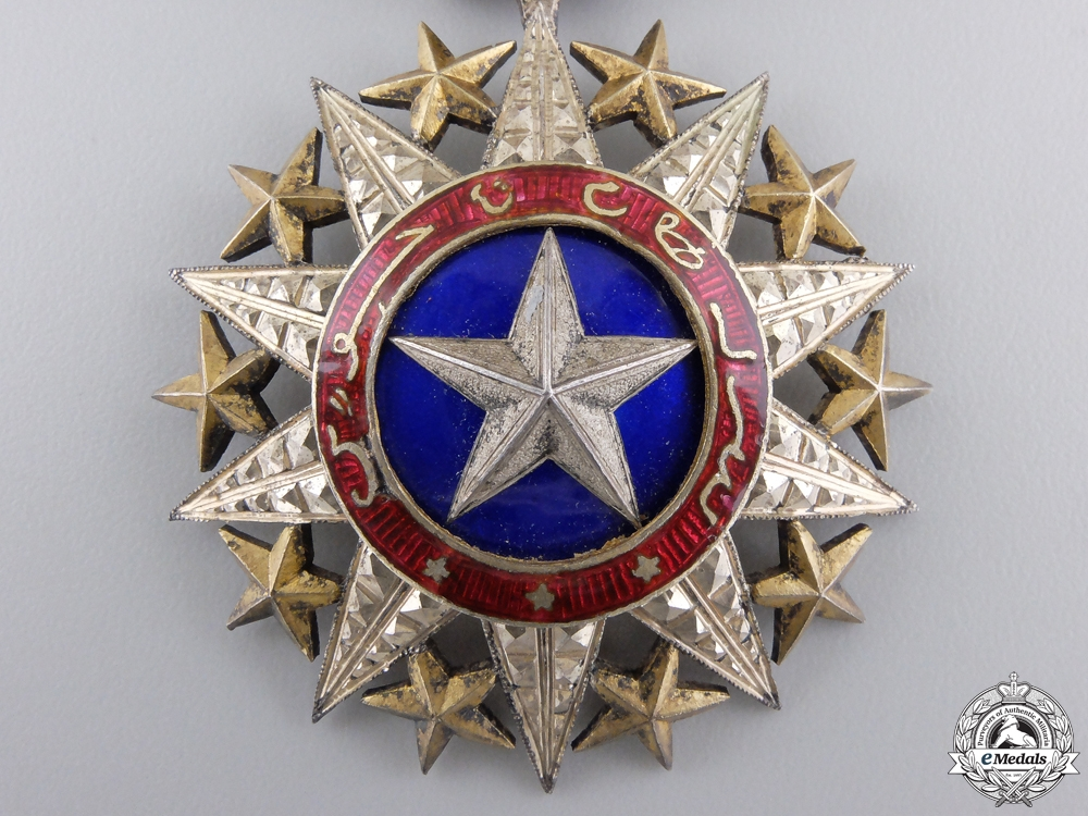 A French Somaliland Order of Nichan el Anouar; Officer