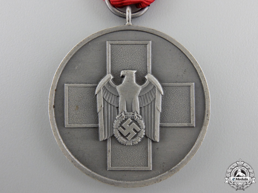 An Early & Mint German Social Welfare Medal with Packet