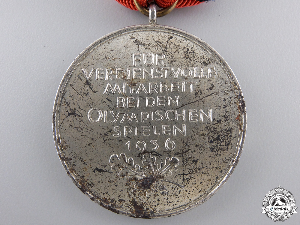 A 1936 XI Summer Olympic Games Medal