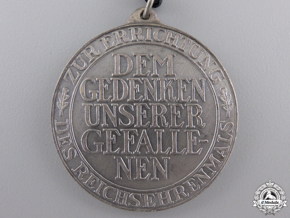 A German Imperial Cenotaph of the Fallen Medal