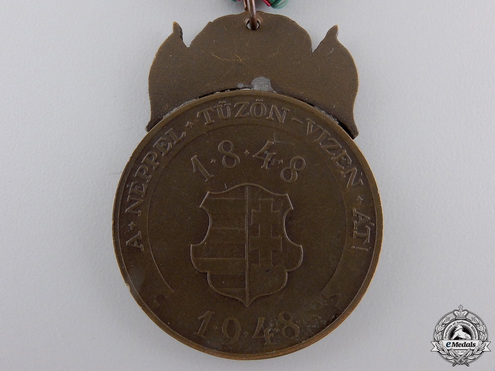 A 100th Anniversary of the Hungarian Uprising Medal