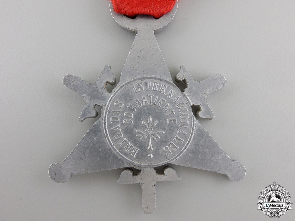A 1938 Spanish Medal of the International Brigades