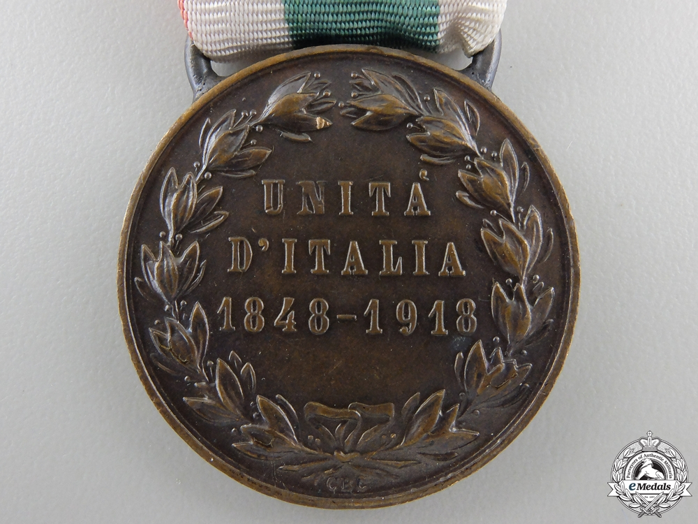 A Medal for Italian Unification, Type II (1848-1918)