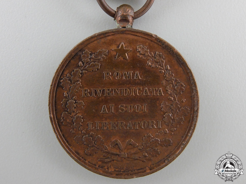 An Italian Liberation of Rome Medal