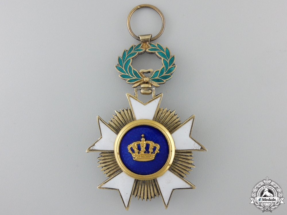 A Belgian Order of the Crown, Knight