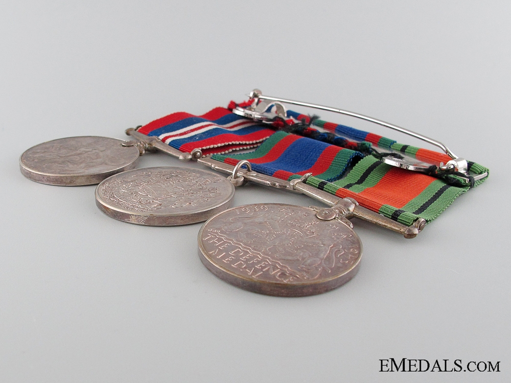 WWII Canadian Medal Group of Three
