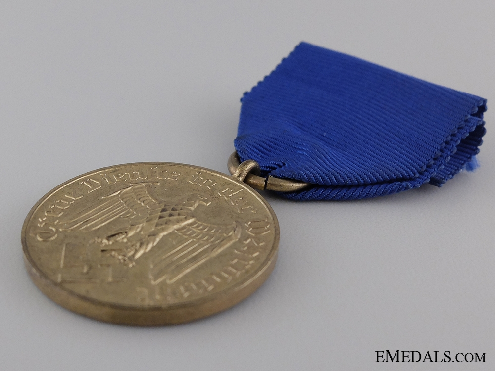 A German Army Long Service Decoration; For 12 Years