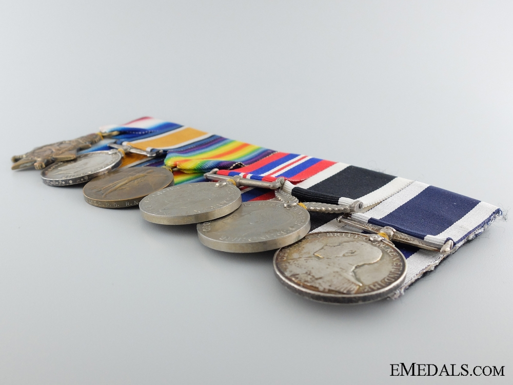 The Medals of Chief Petty Officer Herbert Tarr who Refused DSM