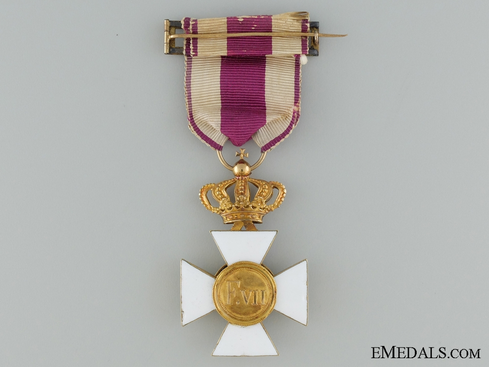 A Royal Military Order of Saint Hermenegildo in Gold