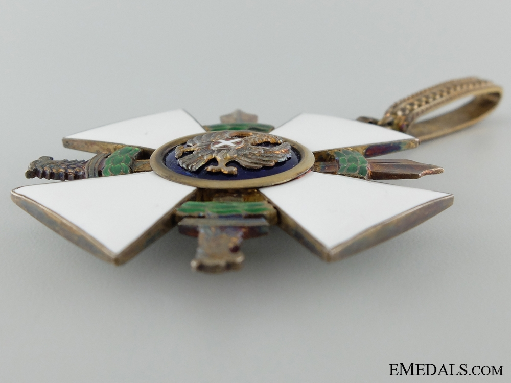 The Order of the Roman Eagle 1942-43 with Swords; Commander's Badge