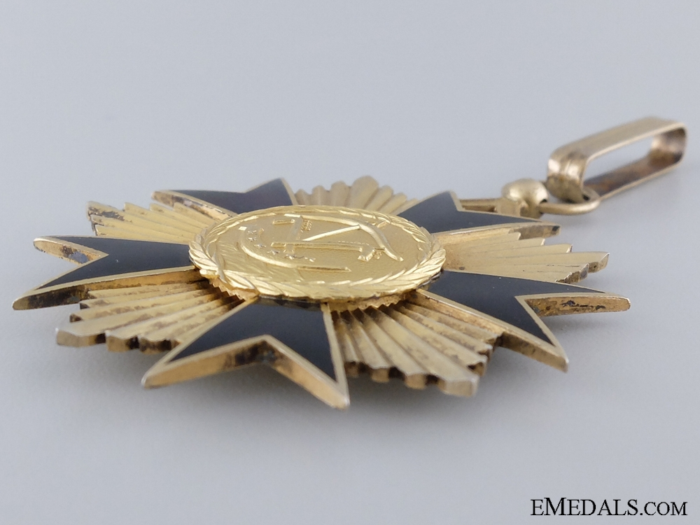 A 1960 Dahomey National Order of Merit