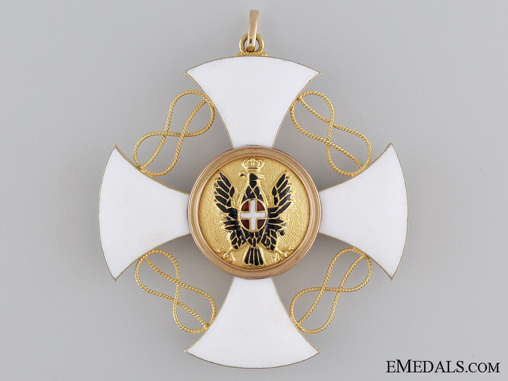 An Italian Order of the Crown; Grand Cross Set