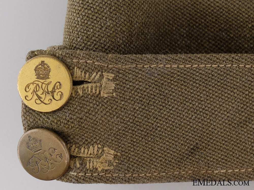 A Unique First War Royal Flying Corps Side Cap by Thresher & Glenny Ltd