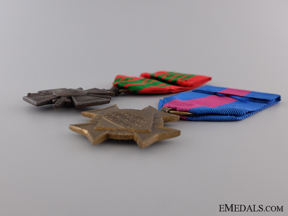 Two Second War French Medals