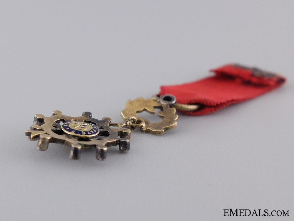 A French Miniature Order of the Legion of Honour in Gold & Diamonds
