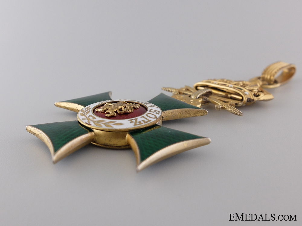 A Bulgarian Order of St. Alexander with Swords; Third Class