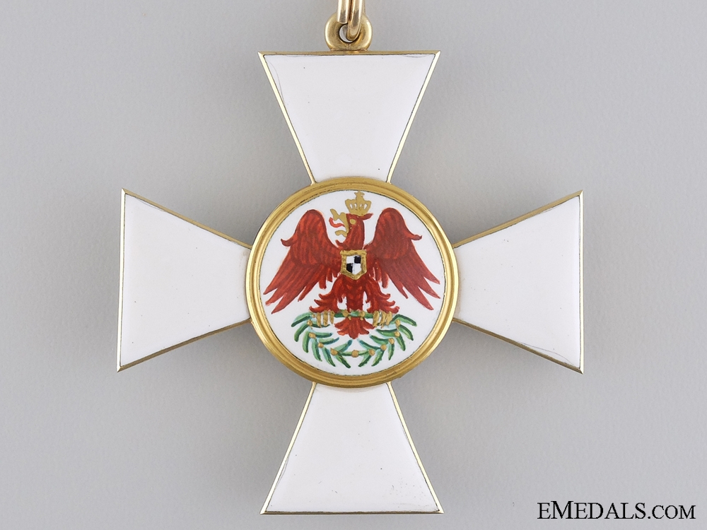 A Prussian Red Eagle Order; Second Class Cross