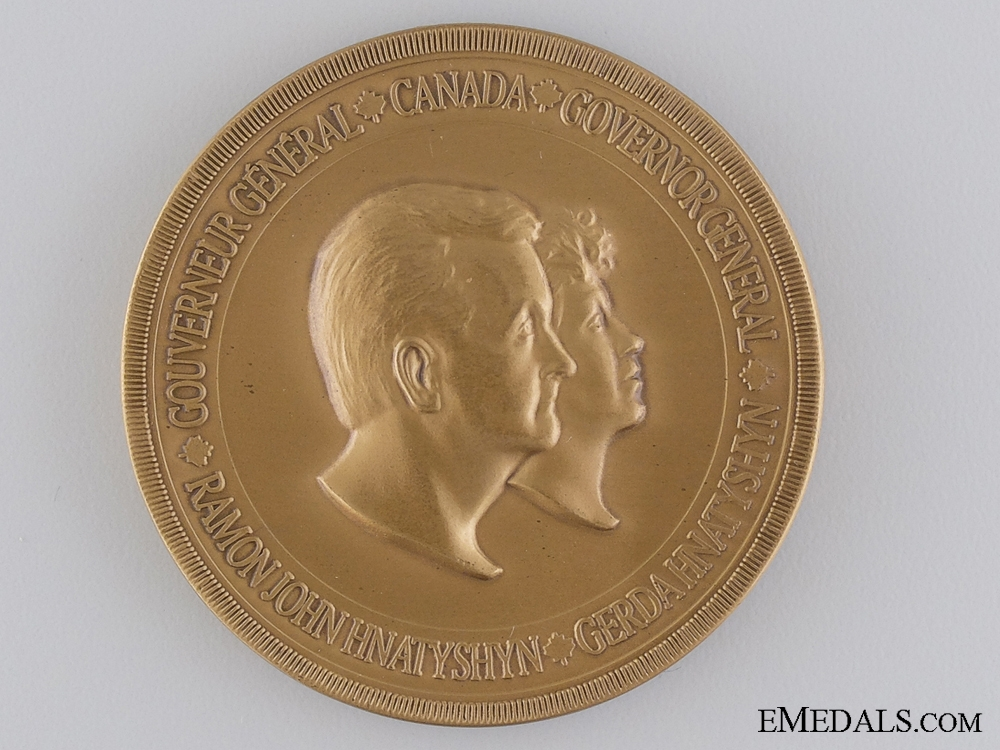 A 1990-1995 Governor General's Academic Medal; Numbered