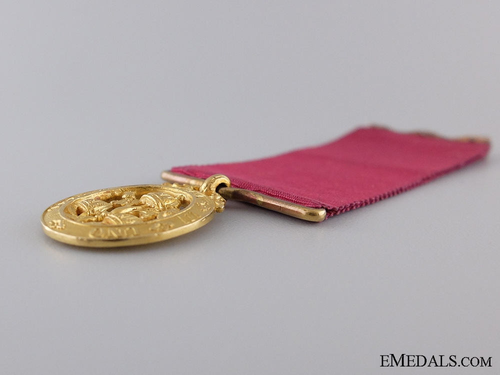 A Miniature Order of the Bath in 18kt Gold