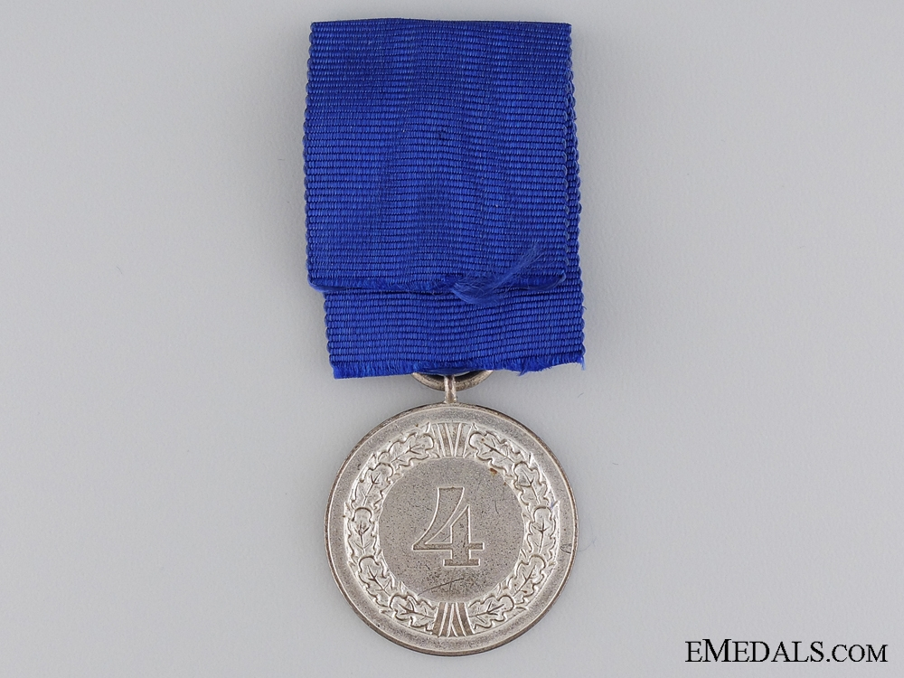 A Second War German Army Long Service Medal; 4 Years