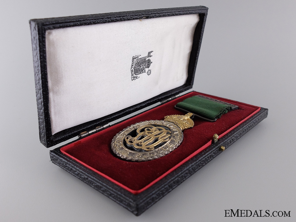 A Colonial Auxiliary Forces Officers' Decoration to Major MacKay