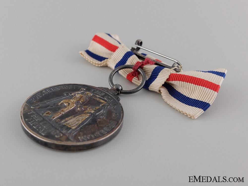 A King's Medal for Service in the Cause of Freedom; Women's Version