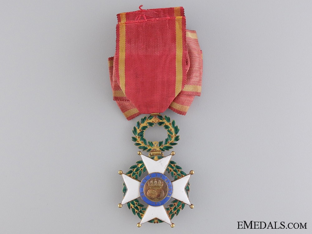 An Early Spanish Order of Fernando in Gold; Circa. 1840