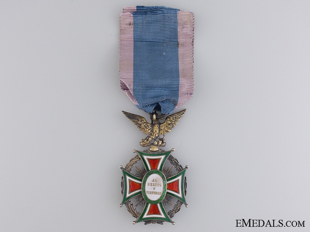 A Mexican Order of Our Lady of Guadaloupe; Officer's Badge