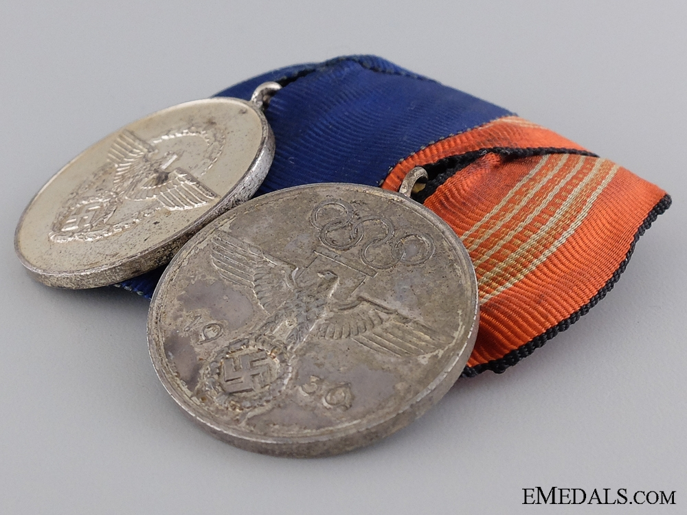 An Olympic Third Reich Period Medal Bar