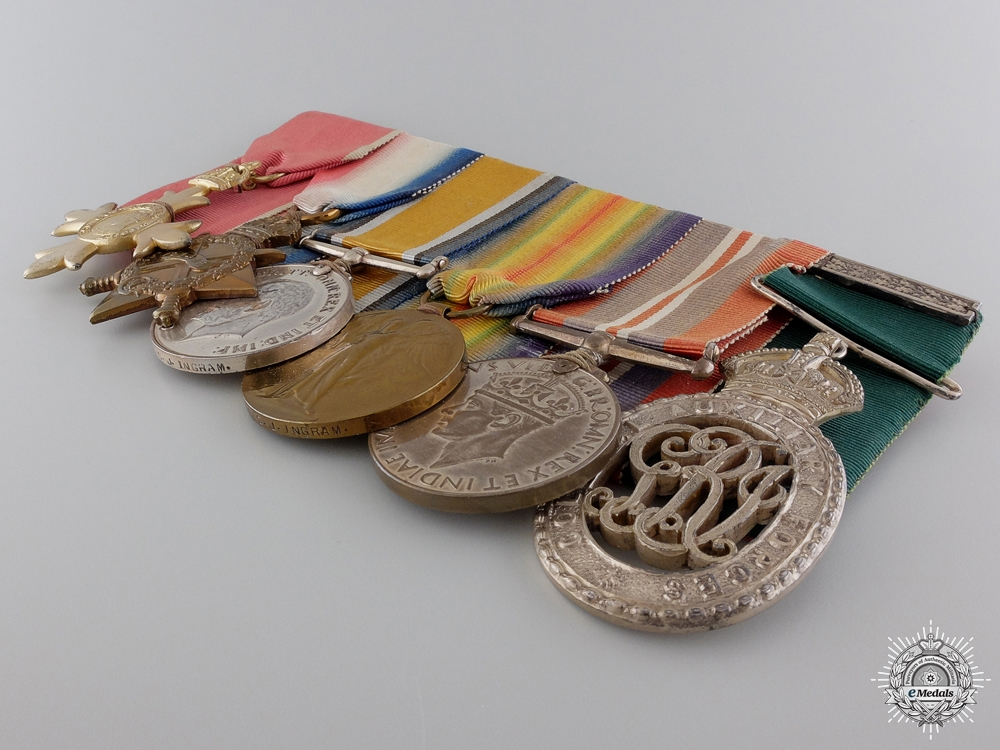The Awards of Major Ingram of the 18th Canadian Infantry CEF