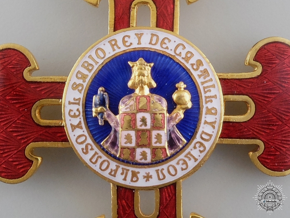 A Franco-Spanish Order of Alfonso X the Wise; Collar