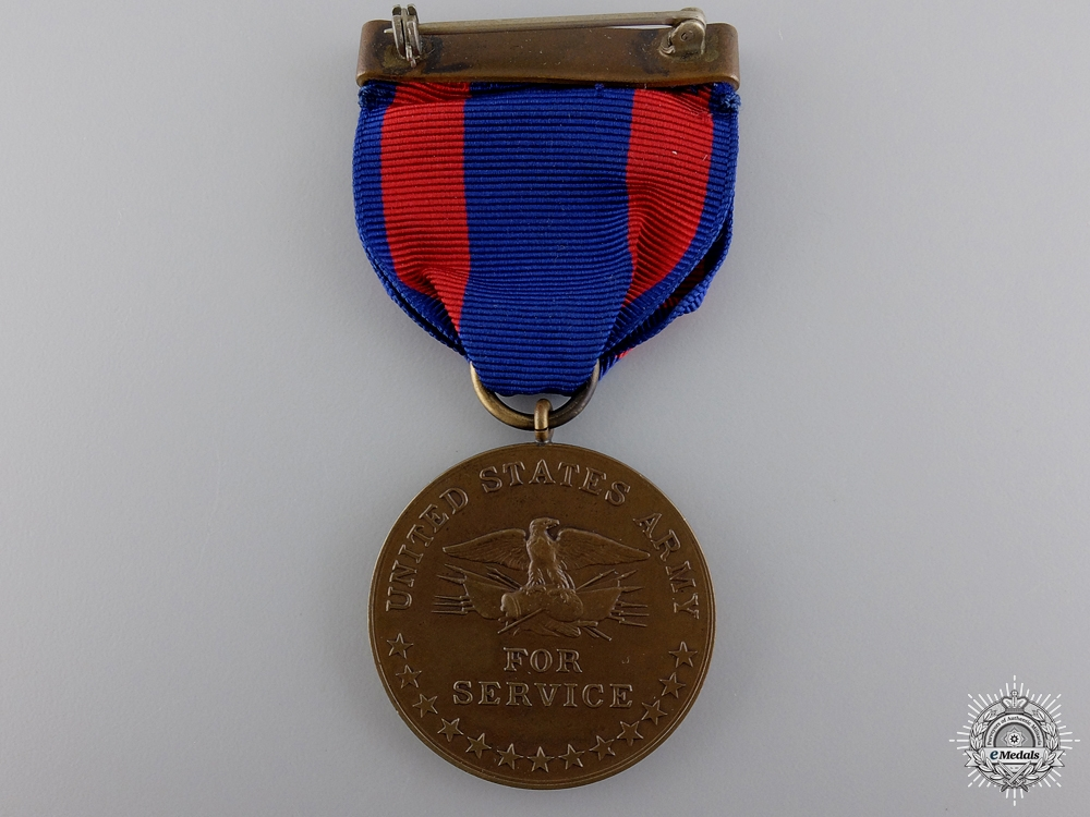 An Issued Philippine Army Campaign Medal