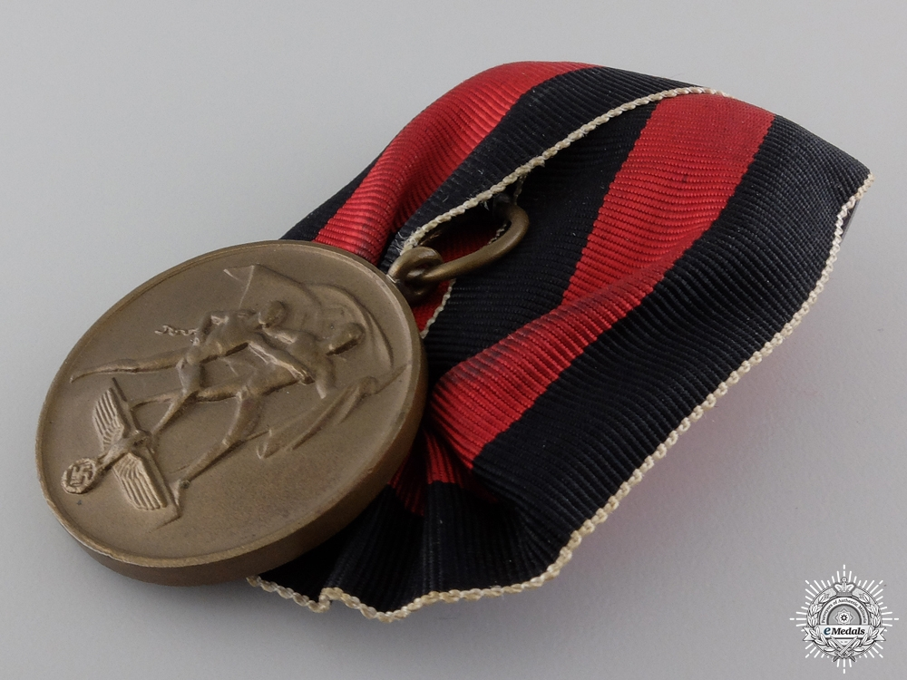 A Medal to Commemorate 1 October 1938