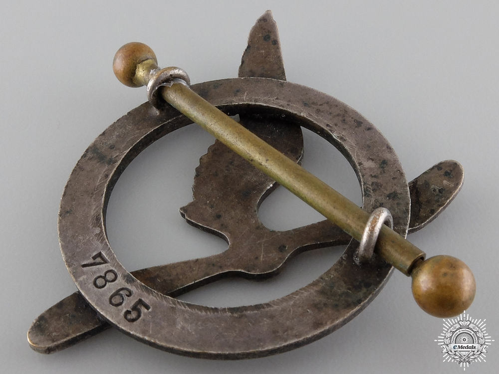 A Pre WWII French Air Force Gunner Badge