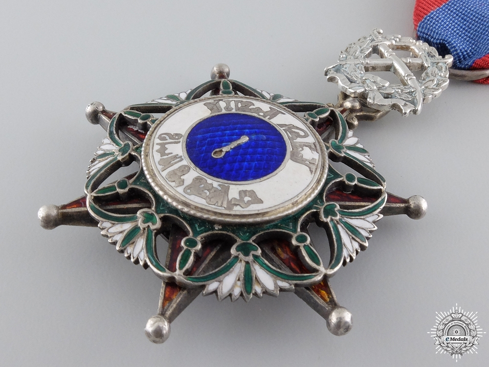 An Iraqi Order of El Rafidian with Swords; 5th Class