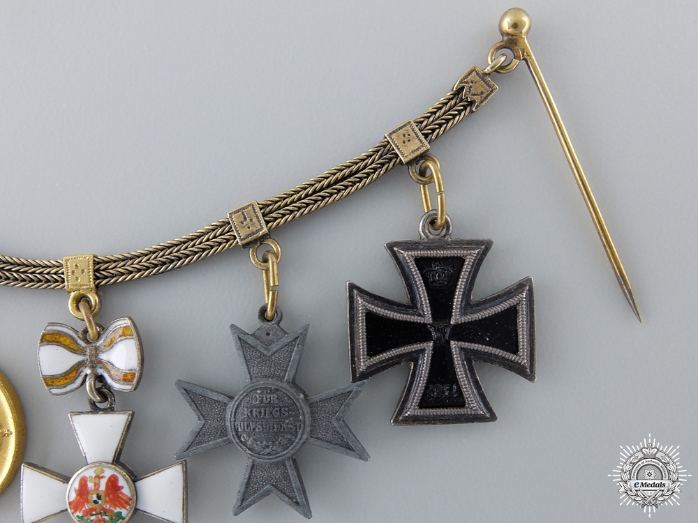 A Miniature Prussian Group of Five