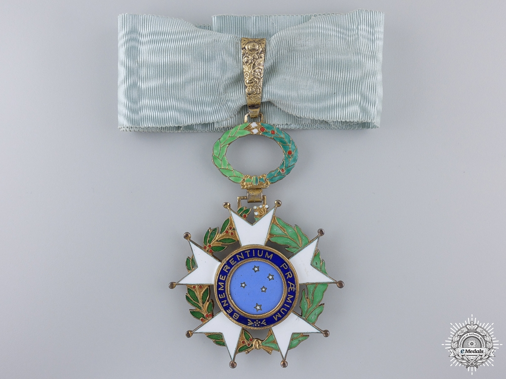 A Brazilian National Order of the Southern Cross; Commander's