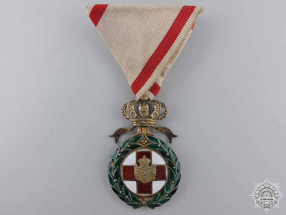 A Rare 1912-1913 Montenegrin Red Cross Order for the Balkans Wars