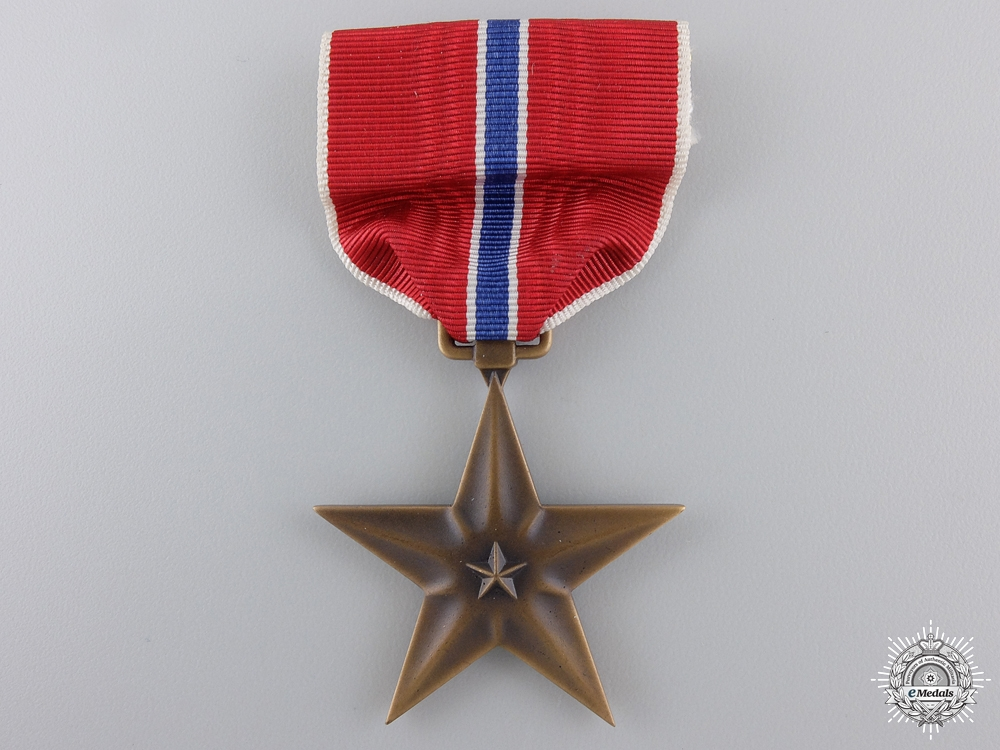 A Second War American Bronze Star to Lt. Kosa 1942