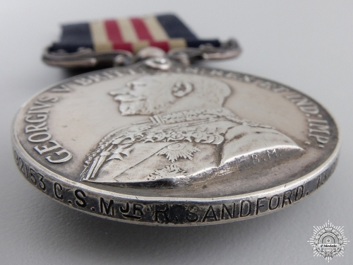 A Military Medal Group to Company Sergeant Major Sandford 13th CAN INF.