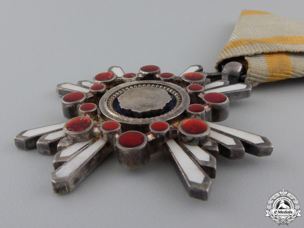 A Japanese Order of the Sacred Treasure; 6th Class