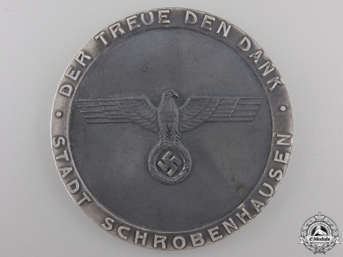 A German Civic Faithful Service Award with Case