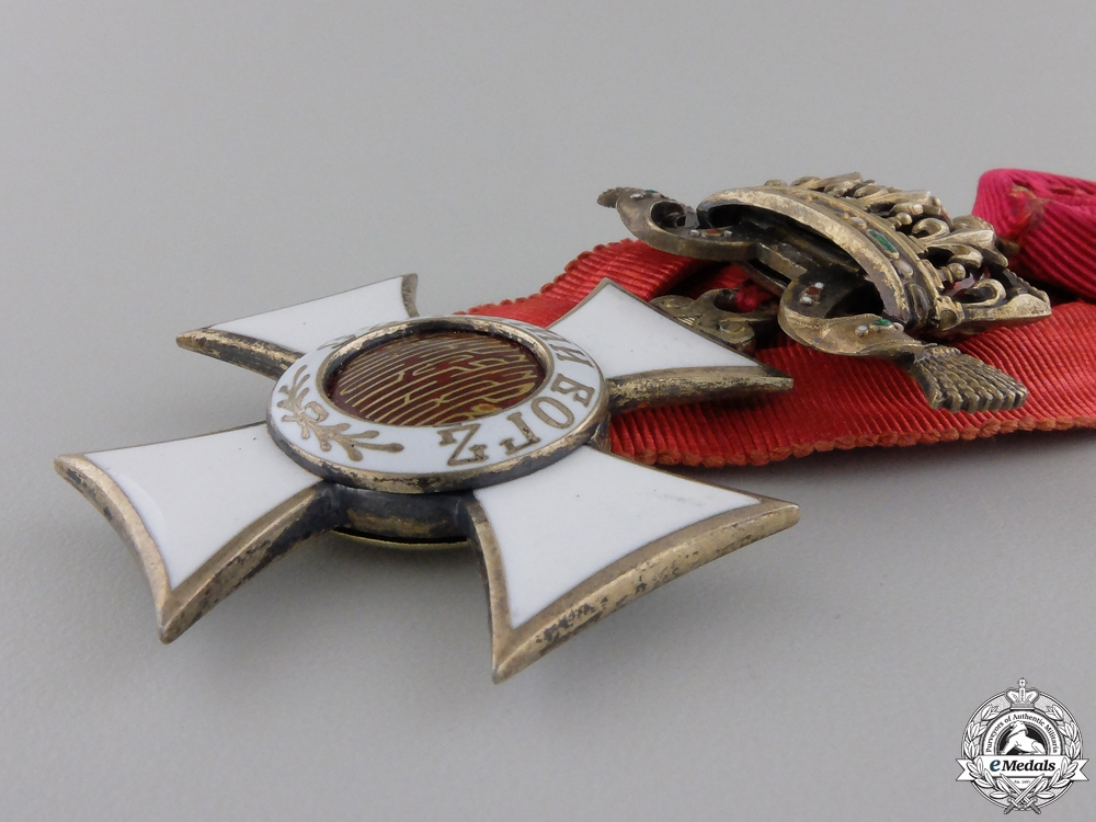 A Bulgarian Order of St. Alexander;  Fifth Class with Swords