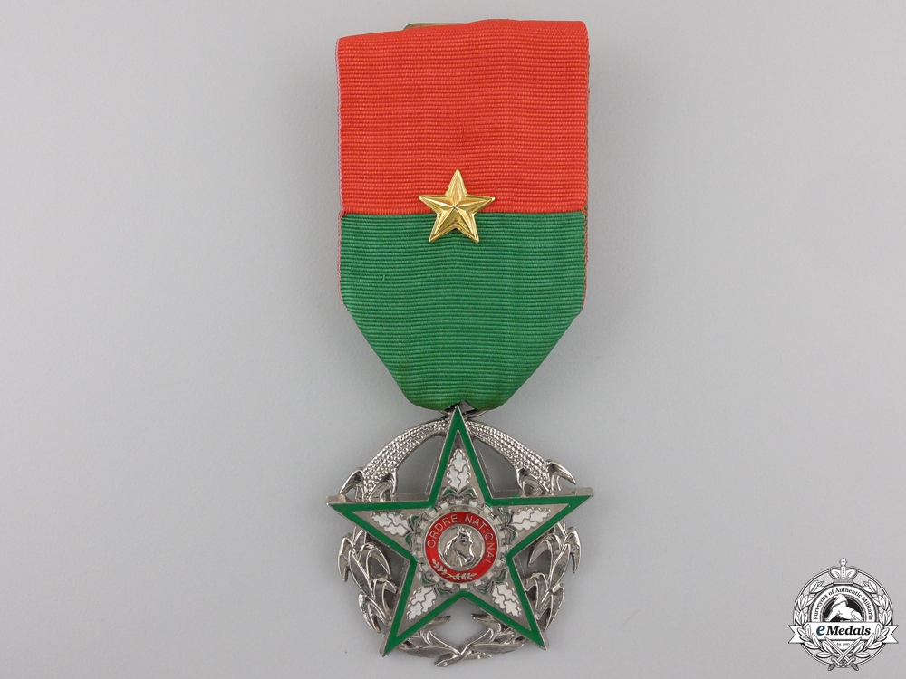 An Order of National Merit of Burkina Faso; Knight