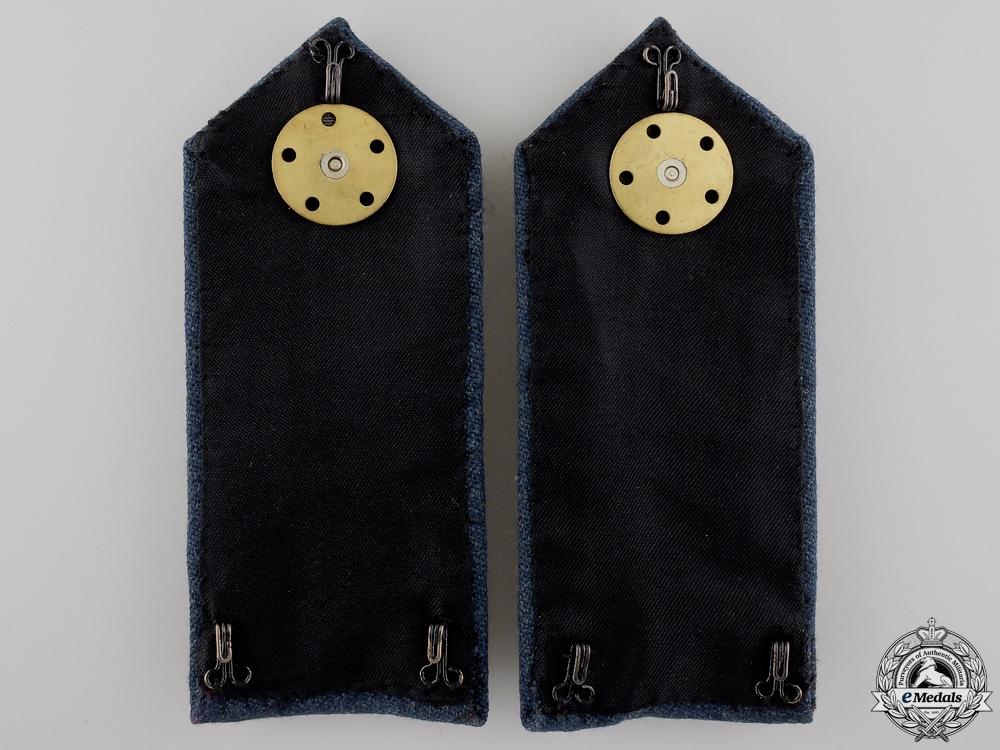 A QEII RCAF No. 1 Dress for Officers of Air Rank Shoulder Board Pair