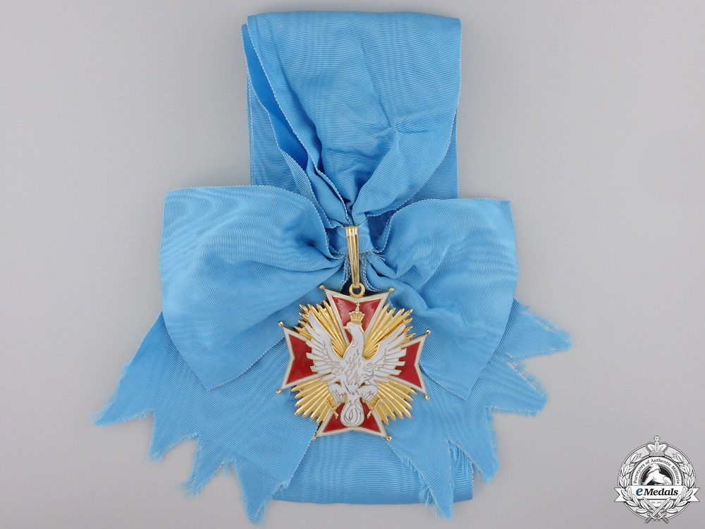 A Polish Order of the White Eagle by Spink & Son